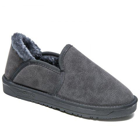 Discount Low Vamp Fashion Men Warm Winter Shoes