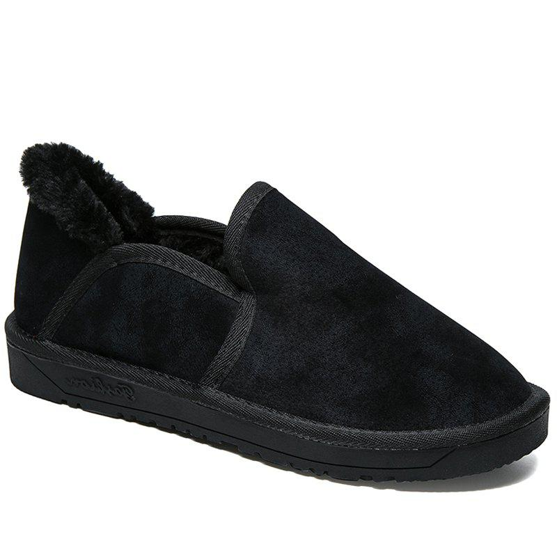 Cheap Low Vamp Fashion Men Warm Winter Shoes