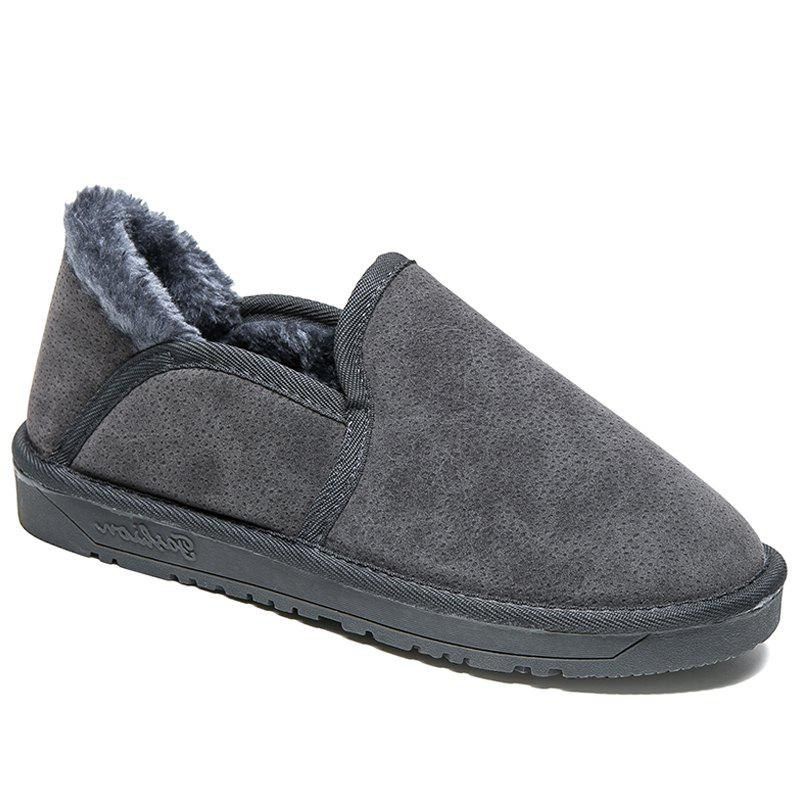 Online Low Vamp Fashion Men Warm Winter Shoes