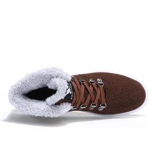Warm High Vamp Winter Flat Shoes -