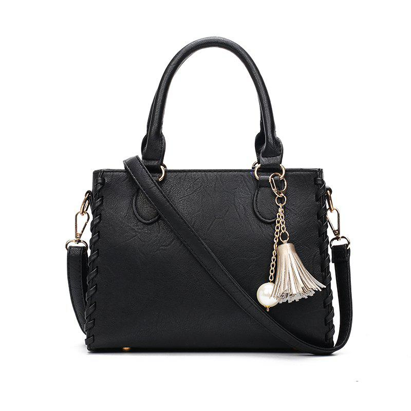 Shop Simple Casual PU Leather Chic Shoulder Bag for Women