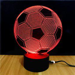 M.Sparkling TD045 Lampe LED Créative Motif Ballon de Football 3D -