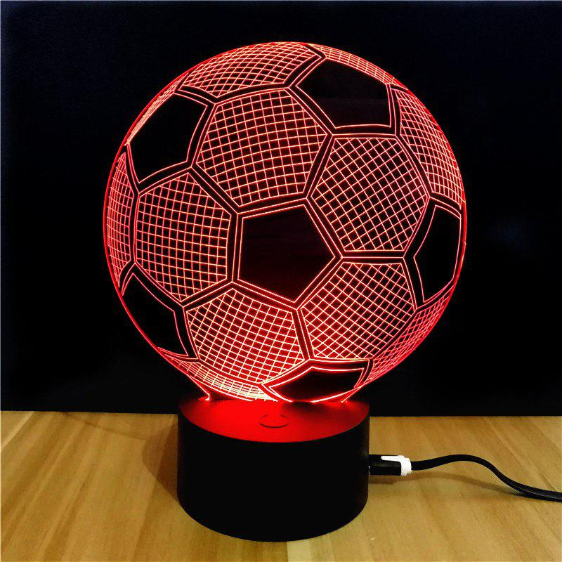 M.Sparkling TD045 Lampe LED Créative Motif Ballon de Football 3D
