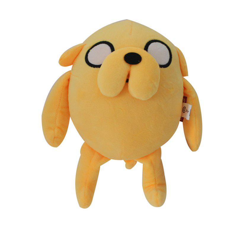 Cartoon Dog Style Plush Doll Stuffed Toy 9 inchHOME<br><br>Size: 9 INCH; Color: GINGER; Materials: Plush; Theme: Leisure,Movie and TV; Features: Cartoon,Soft,Stuffed and Plush; Series: Fashion;