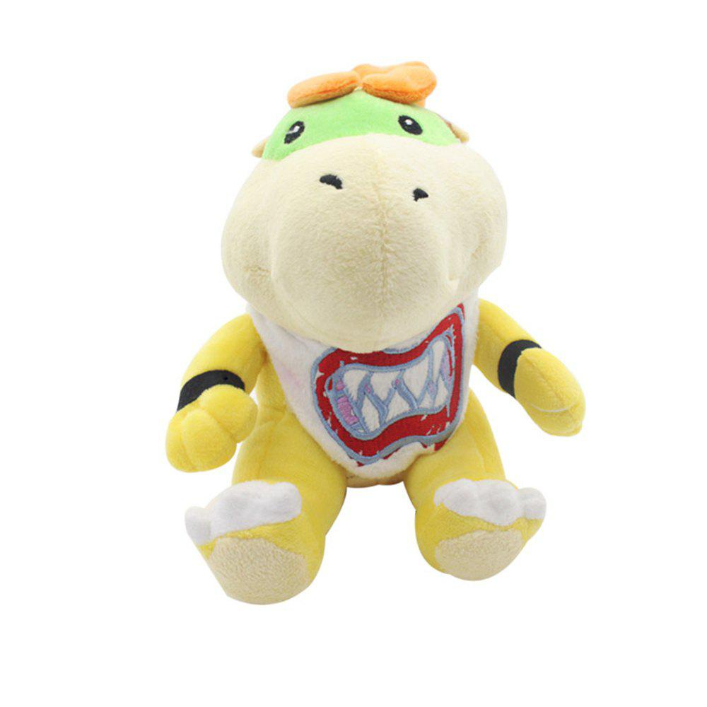 Game Super Mario Bros Plush Doll Stuffed Toy 7 inchHOME<br><br>Size: 7 INCH; Color: YELLOW;