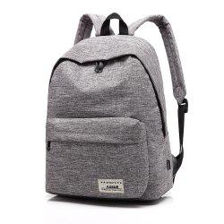 AUGUR New Backpacks Canvas Casual Teenager High Quality School Bag College for Teenage Girl -