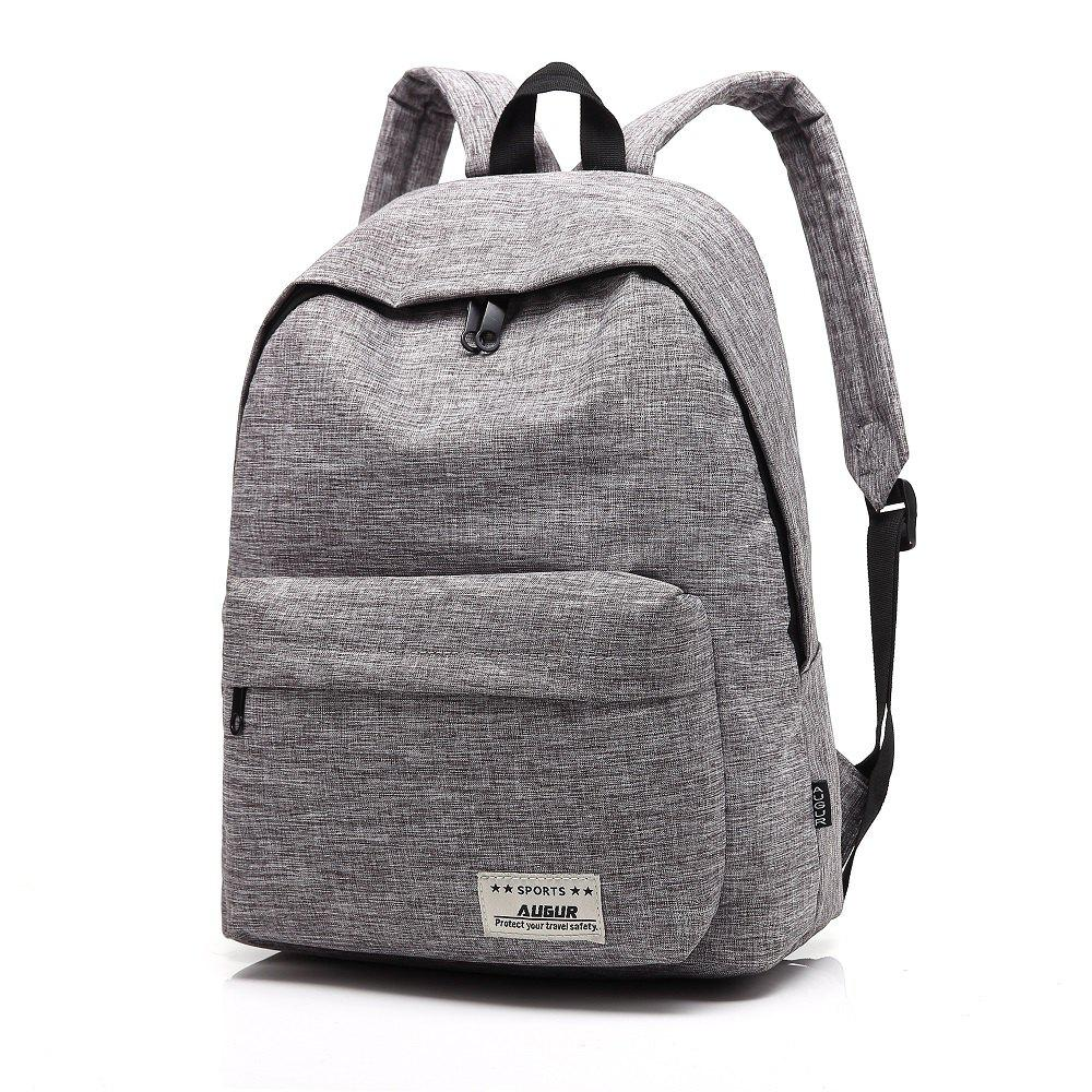 Chic AUGUR New Backpacks Canvas Casual Teenager High Quality School Bag College for Teenage Girl