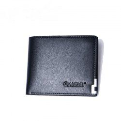 AUGUR 2017 New Brand Short Men Wallets PU Leather Male Purse Card Holder Fashion Zipper Coin Bag -