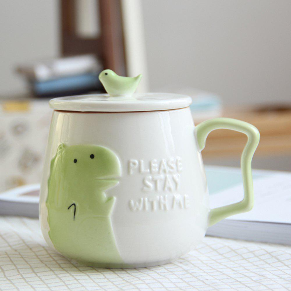 Best 400ML Cartoon Embossed Ceramic Mug