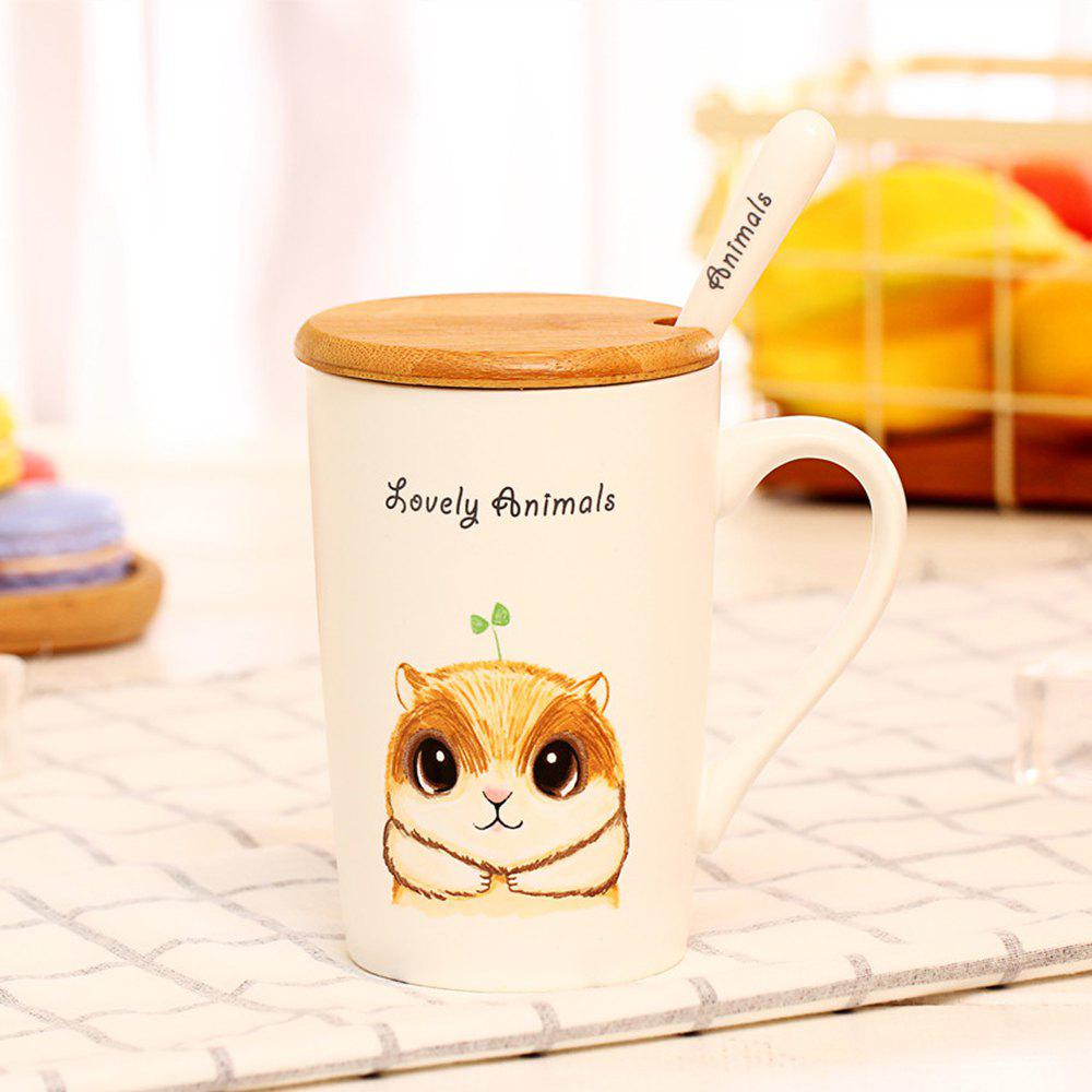 Outfit 400ML Lustration Animal Cup