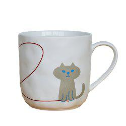 330ML Cartoon Persian Cat Mug -