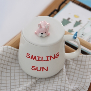 375ML Three-Dimensional Lovely Animal Cup -