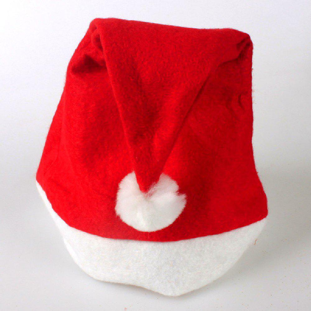 YEDUO Adult Kids Christmas Hats Santa Children CapHOME<br><br>Size: CHILD; Color: RED; Brand: YEDUO; Usage: Christmas;