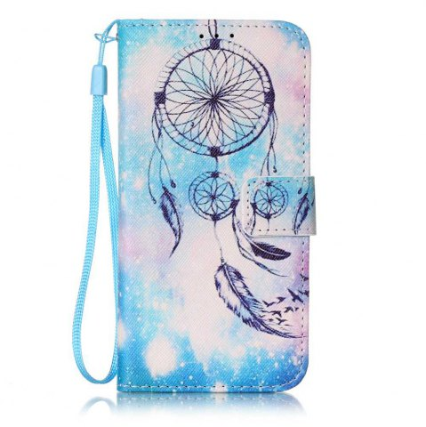 Outfits The New Painted PU Phone Case for Samsung Galaxy S7