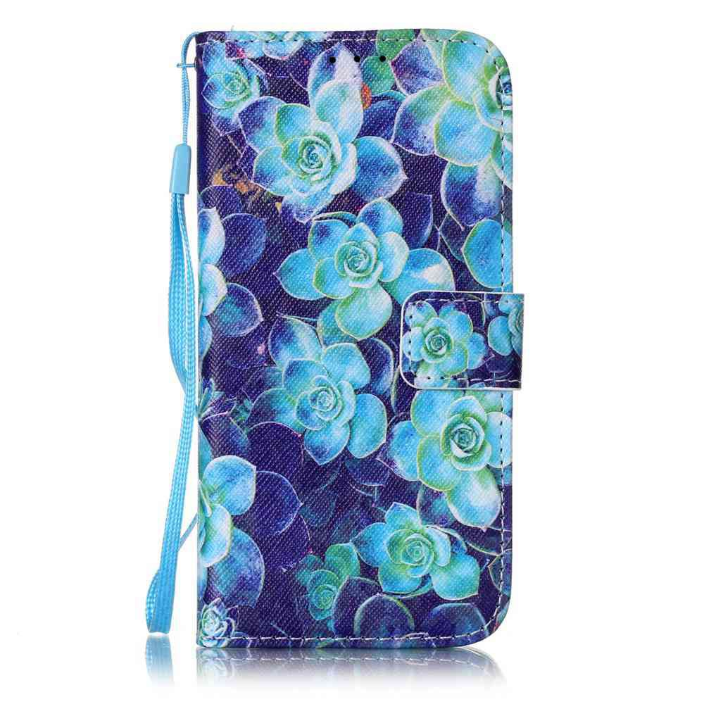 Latest The New Painted PU Phone Case for Samsung Galaxy S7