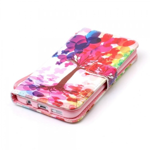 The New Painted PU Phone Case for Samsung Galaxy S7 Edge -