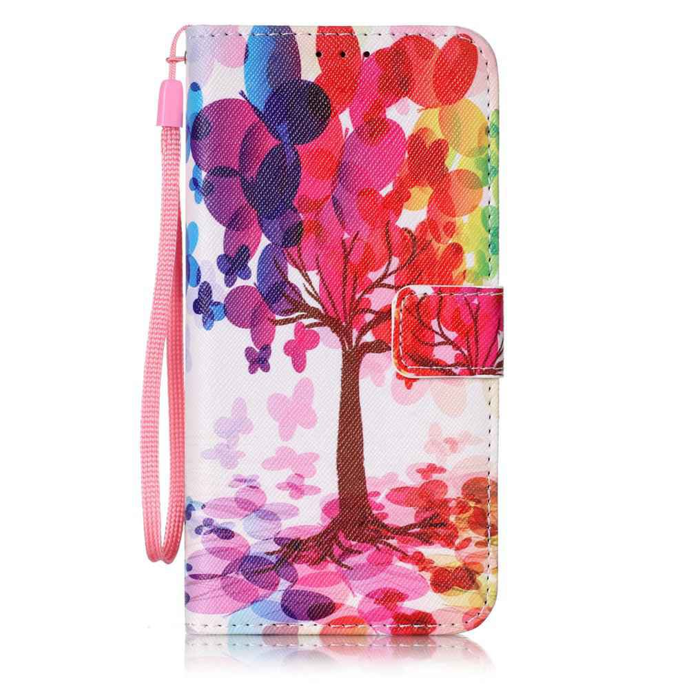 Hot The New Painted PU Phone Case for Samsung Galaxy S7 Edge