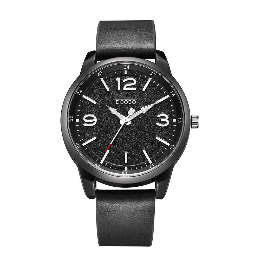 DOOBO D028 4765 Business Casual Band Quartz Men Watch with BoxJEWELRY<br><br>Color: BLACK; Brand: DOOBO; Watches categories: Men; Watch style: Business,Casual,Fashion;