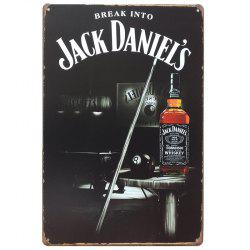 Whiskey Vintage Style  Metal Painting for Cafe Bar Restaurant Wall Decor -
