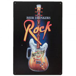Creative Beers Drinkers Poster  Metal Painting for Cafe Bar Restaurant Wall Decor -