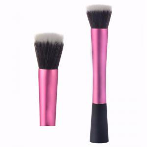 TODO Beauty Contour Foundation Makeup Synthetic Hair Flat Top Cosmetics Stippling Brush -