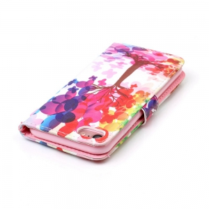 Painted PU Phone Case for iPhone 7 / 8 -