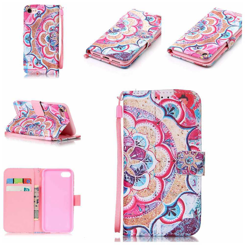Fashion Painted PU Phone Case for iPhone 7 / 8