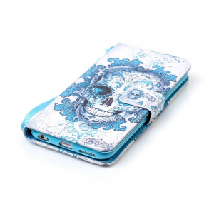 Painted PU Phone Case for iPhone 6 Plus / 6S Plus -