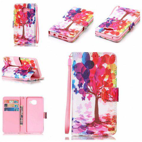 Buy The New Painted PU Phone Case for Samsung Galaxy A3 2016