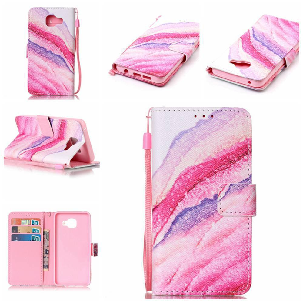 Fashion The New Painted PU Phone Case for Samsung Galaxy A3 2016