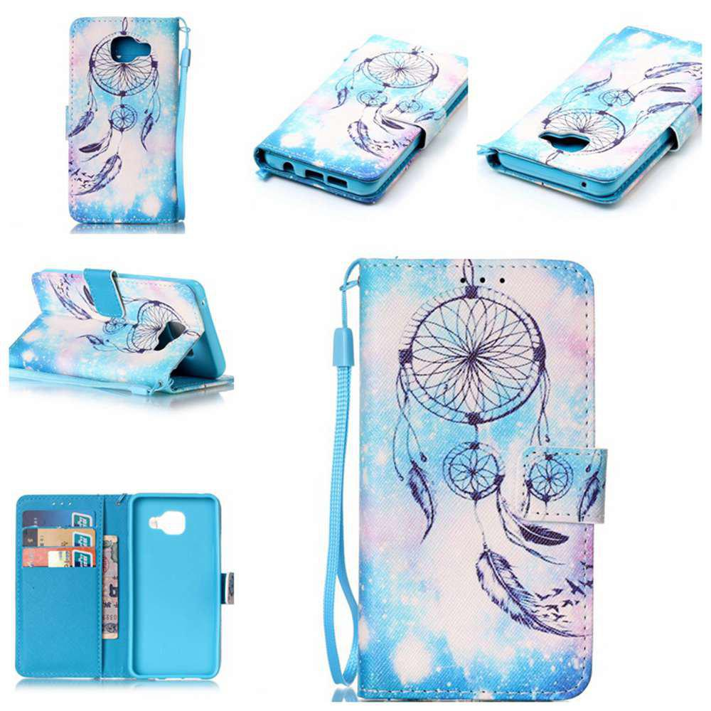 Shop The New Painted PU Phone Case for Samsung Galaxy A3 2016