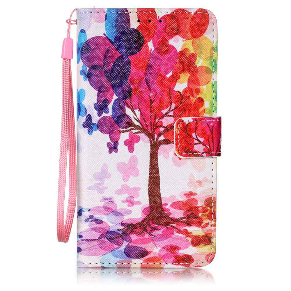 Unique The New Painted PU Phone Case for Samsung Galaxy  J5 2016