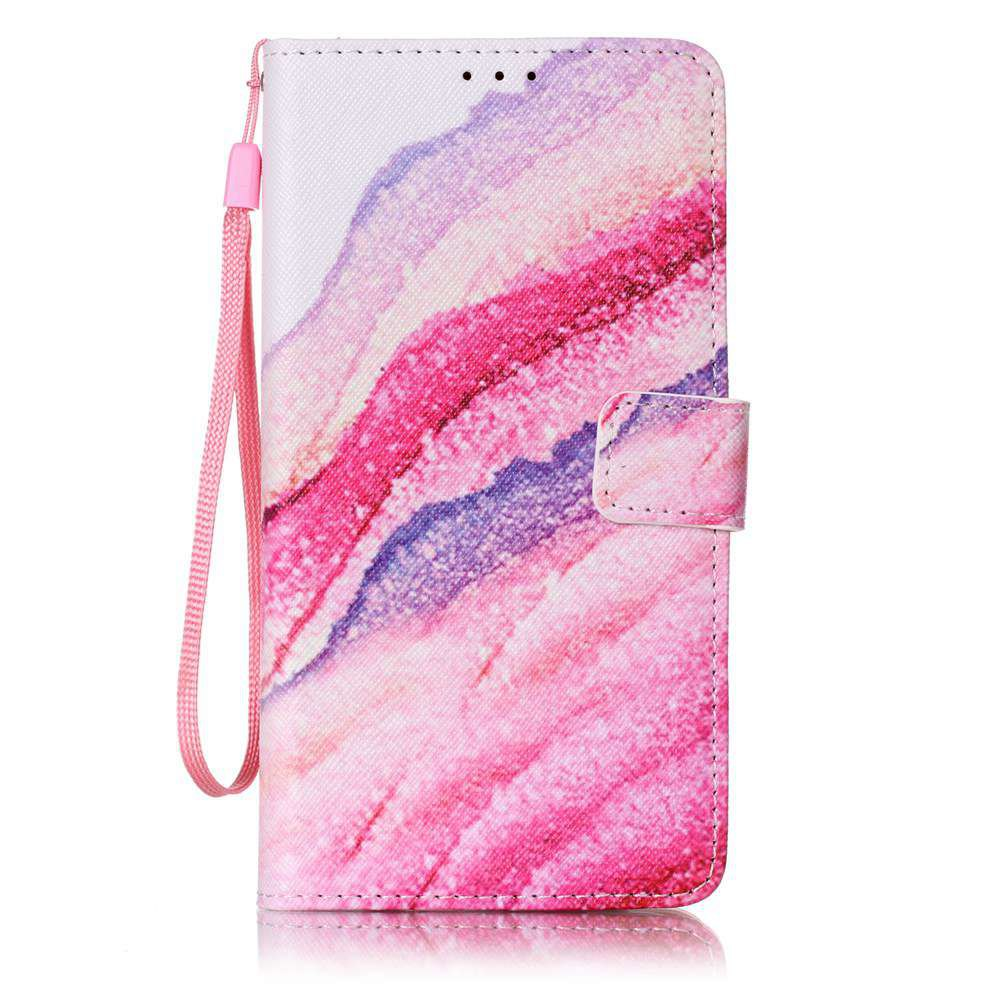 Outfit The New Painted PU Phone Case for Samsung Galaxy  J7 2016