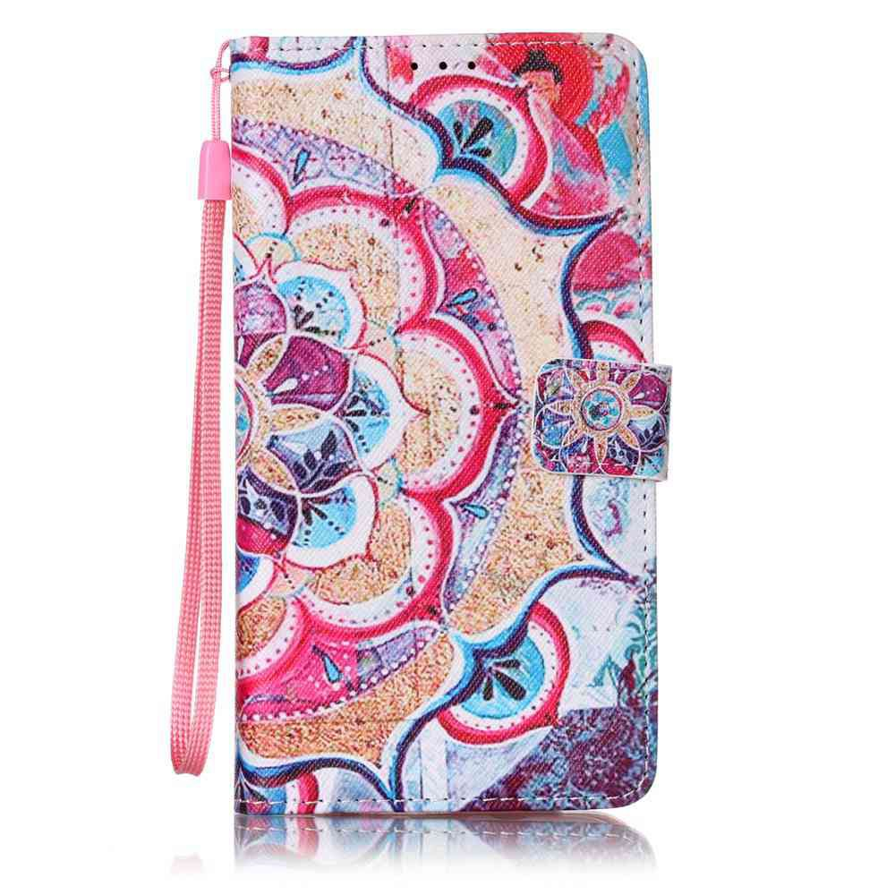 Shops The New Painted PU Phone Case for Samsung Galaxy  J7 2016