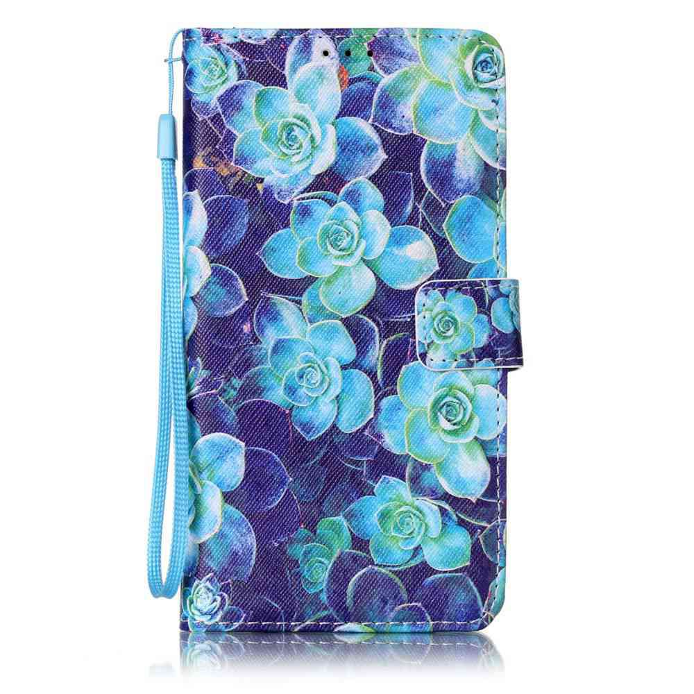 Hot The New Painted PU Phone Case for Samsung Galaxy  J7 2016
