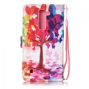 The New Painted PU Phone Case for LG K7 -