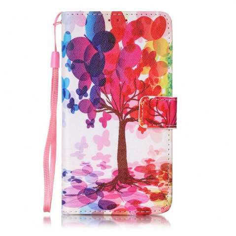 Fashion The New Painted PU Phone Case for LG K7