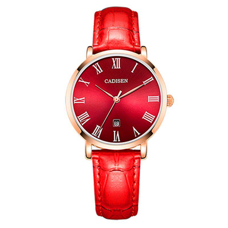 Affordable Cadisen C2006 Women Fashion Contracted Ultra-thin Quartz Watch