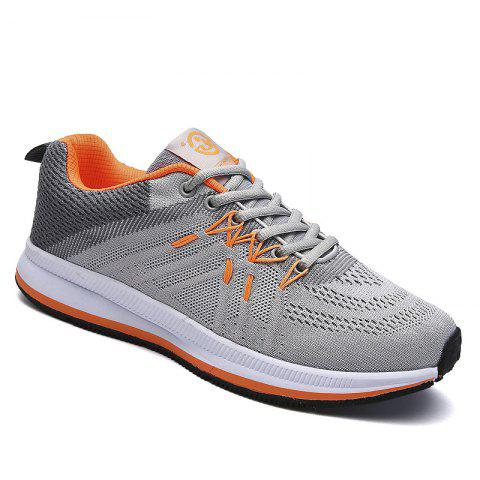 Trendy Flying Knitted Breathable Leisure Shoes