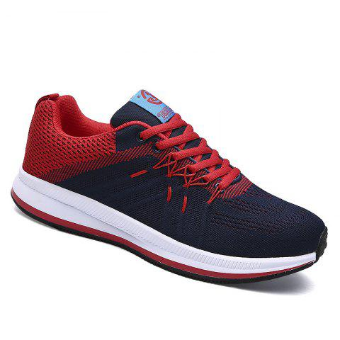 Shops Flying Knitted Breathable Leisure Shoes