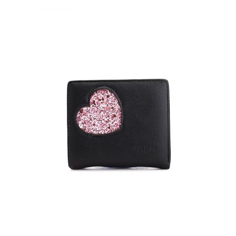 Shop Blocking Small Compact PU Leather Pocket Wallet for Women