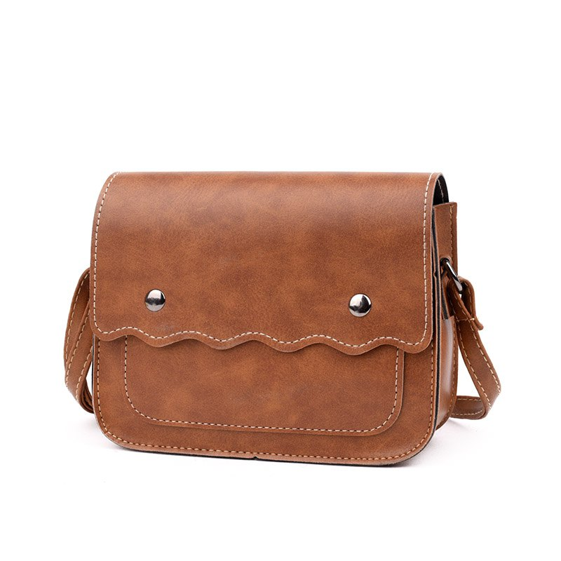 Womens Top Handle Bags Crossbody Messenger Bag Shoulder HandbagSHOES &amp; BAGS<br><br>Color: BROWN;