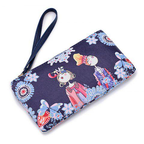 New Fashion Casual Printing Wallets for Women