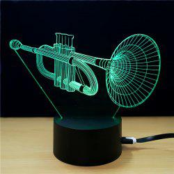 M.Sparkling TD289 Creative Music 3D LED Lamp -