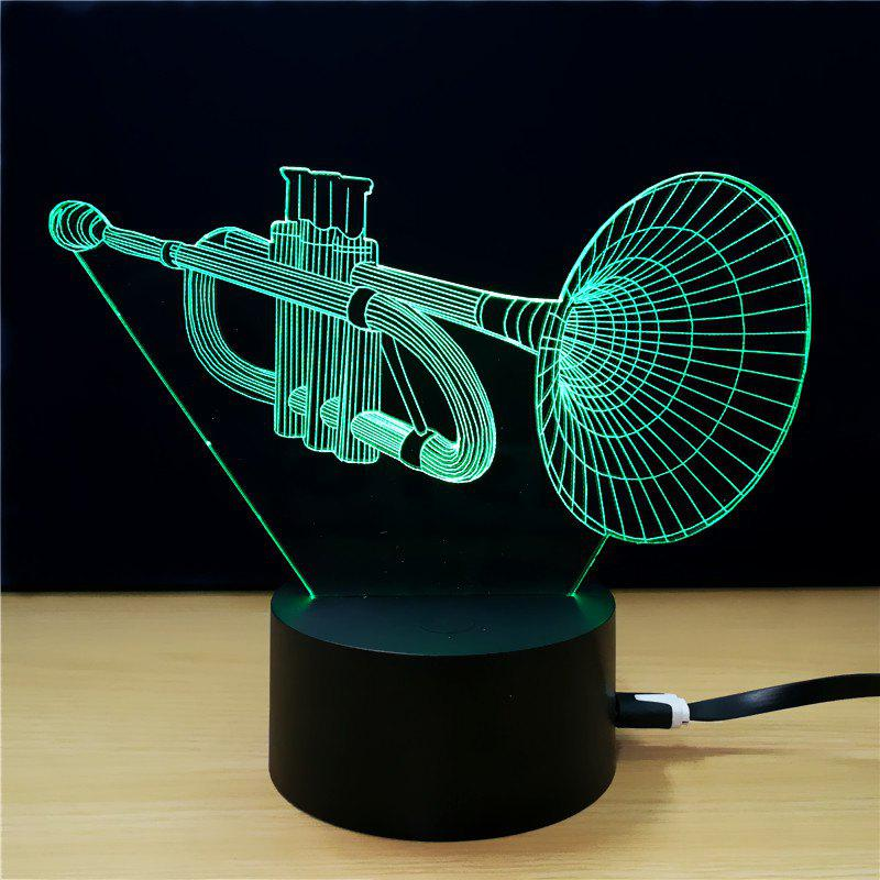 Buy M.Sparkling TD289 Creative Music 3D LED Lamp