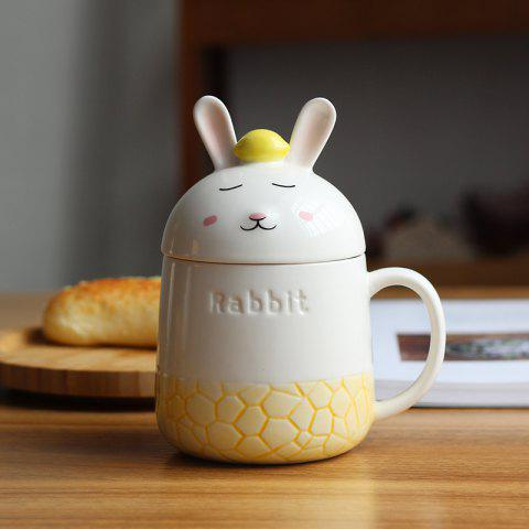 Outfit 350ML Creative Cute Rabbit Ceramic Cup