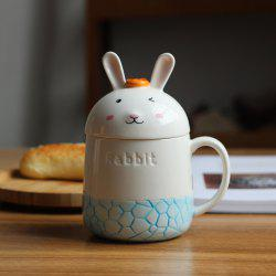 350ML Creative Cute Rabbit Ceramic Cup -