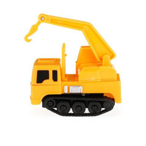 Magic Mini Construction Truck Excavator Noir ligne dessinée Toy Car