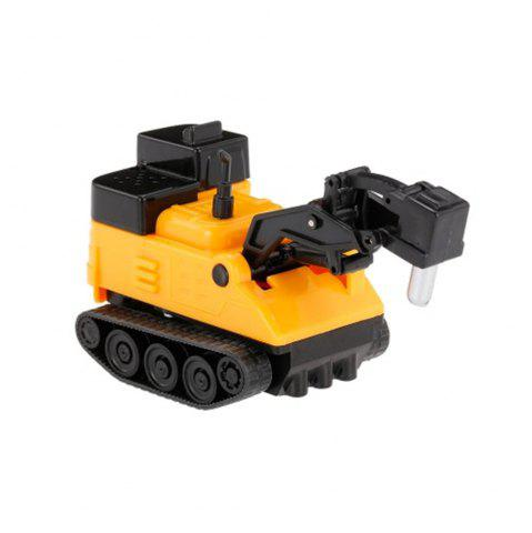 Outfits Magic Mini Construction Truck Excavator Black Drawn Line Toy Car