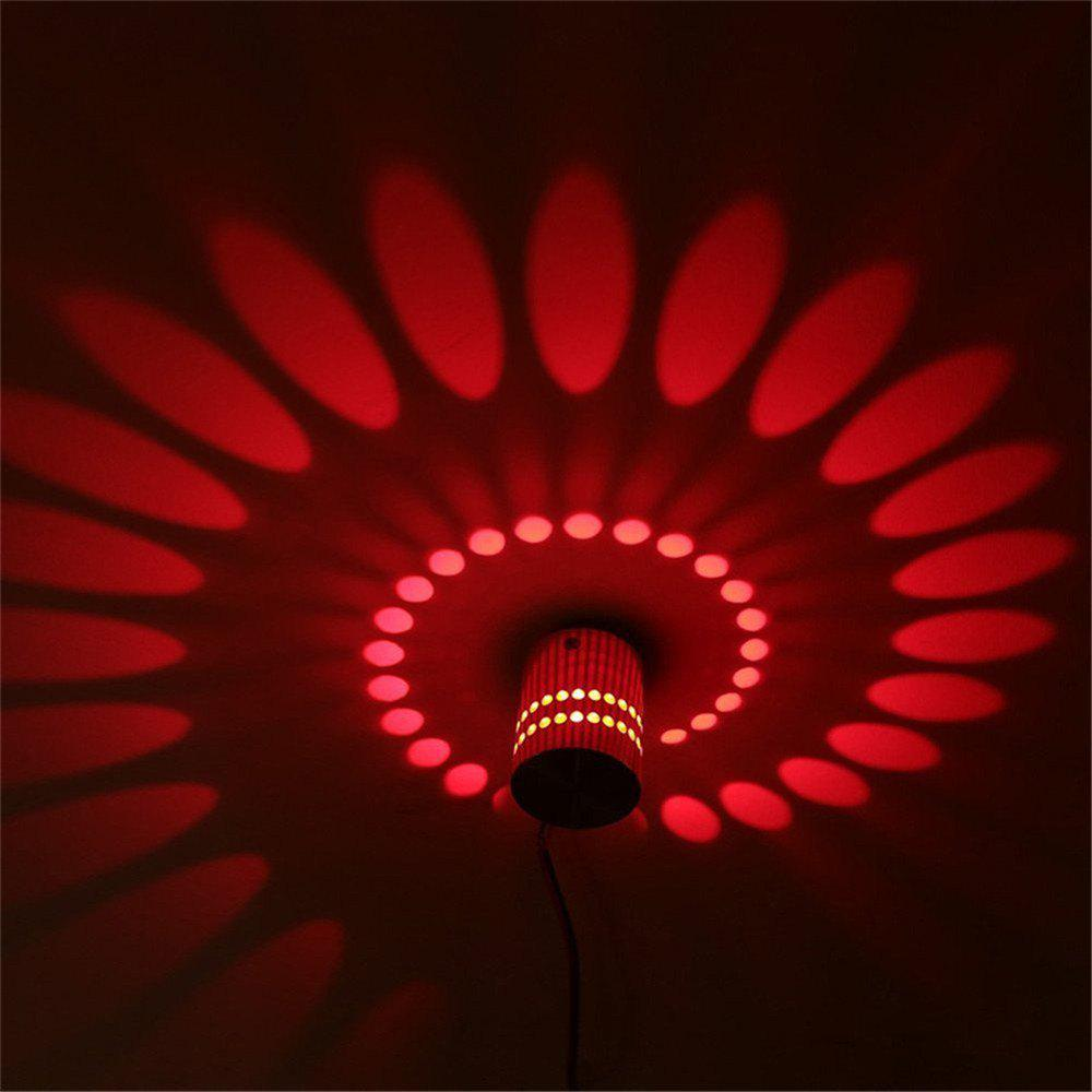 Red ywxlight 1w led wall sconce night light lamp indoor bedroom decorative ac 110 240v - Decorative led wall lights ...